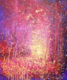 *SOLD* Fireflies - Yaron Lambez