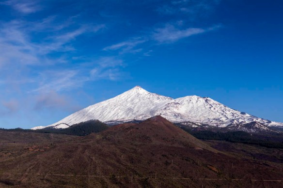Snow on Teide